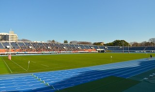 今回の舞台となった、駒沢公園陸上競技場